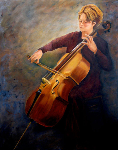 Cellist Portrait